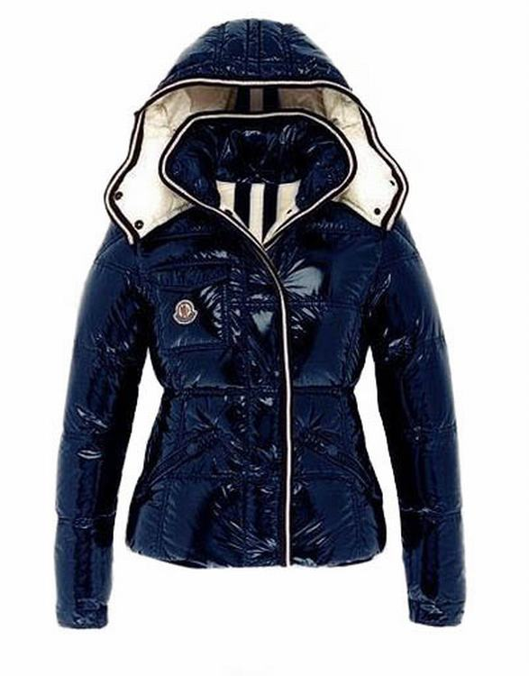 Moncler Quincy Women Jacket Dark Cherry Navy Blue