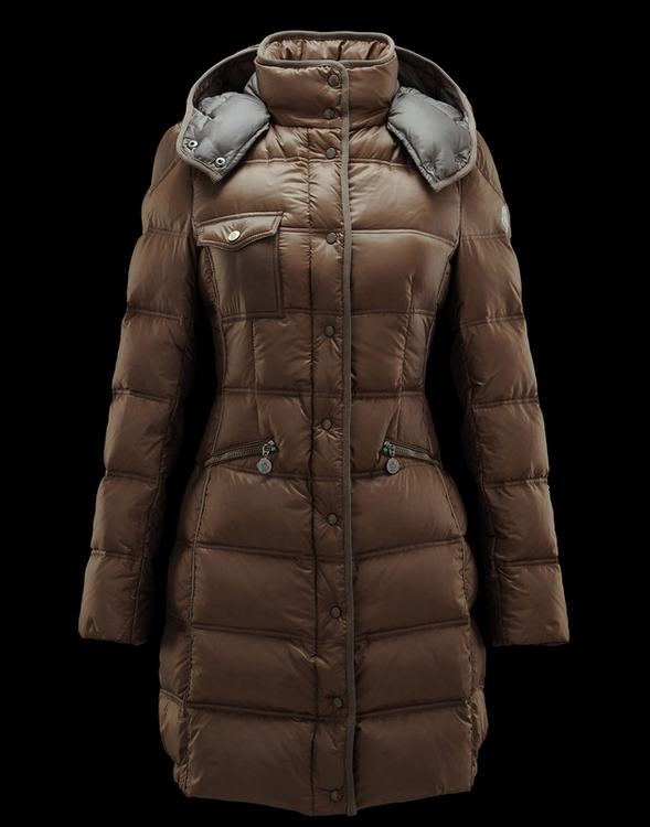 Moncler Romarin Women Jacket Brown
