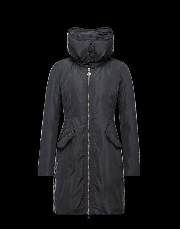 Moncler Saissac Women Jacket Black