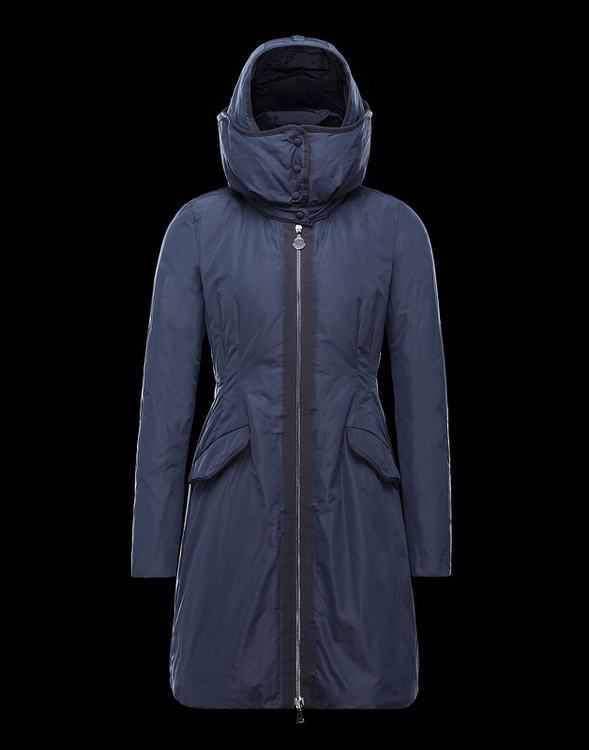 Moncler Saissac Women Jacket Blue