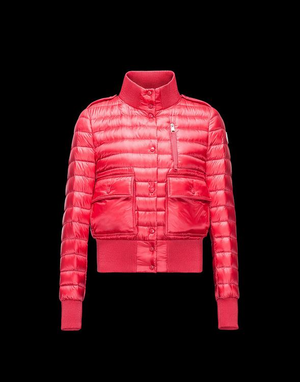 Moncler Silene Women Jacket Cherry Red