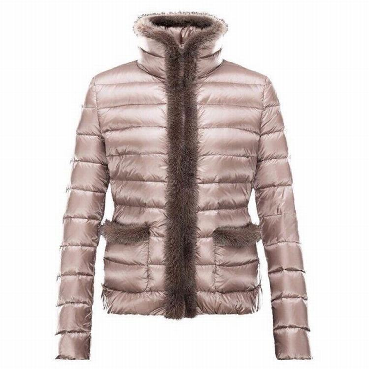 Moncler Temple Women Jacket Pink