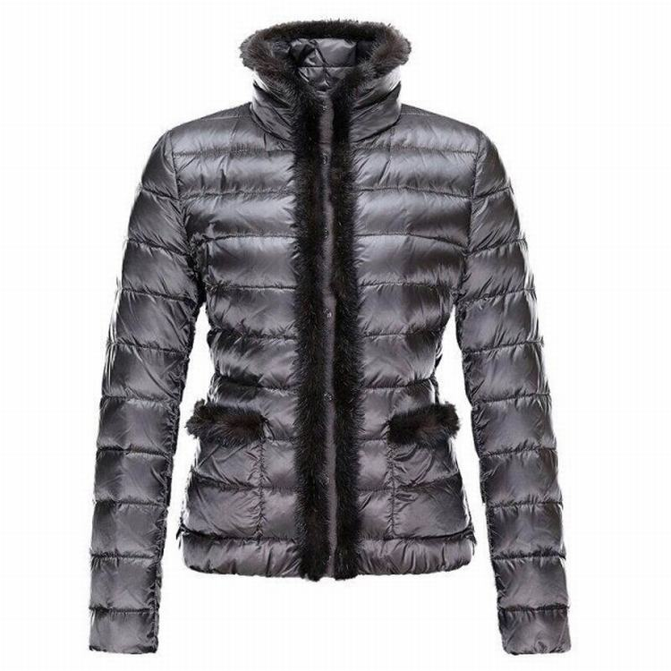 Moncler Temple Women Jacket Silver