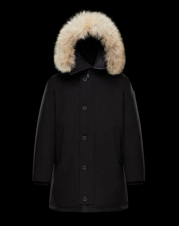 MONCLER AURELIEN Men Black