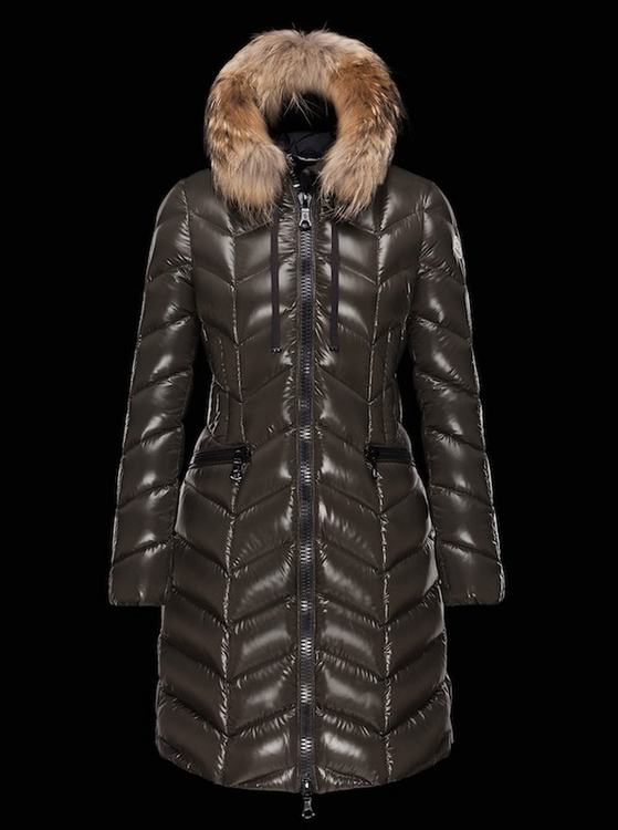 MONCLER BELLOY Women Brown