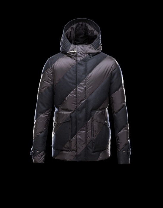 MONCLER GAMME BLEU GIUBBOTTO Men Wine Red