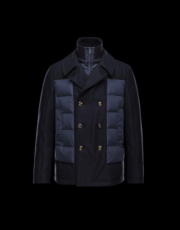 MONCLER GIRAUDY Men Black Blue
