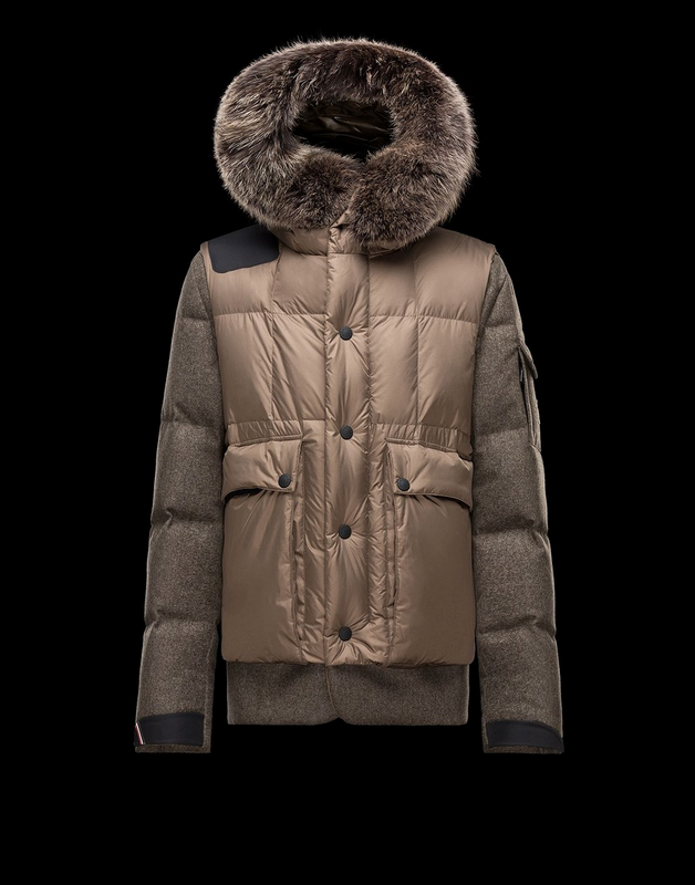 MONCLER Grenoble Colmiane Men Brown