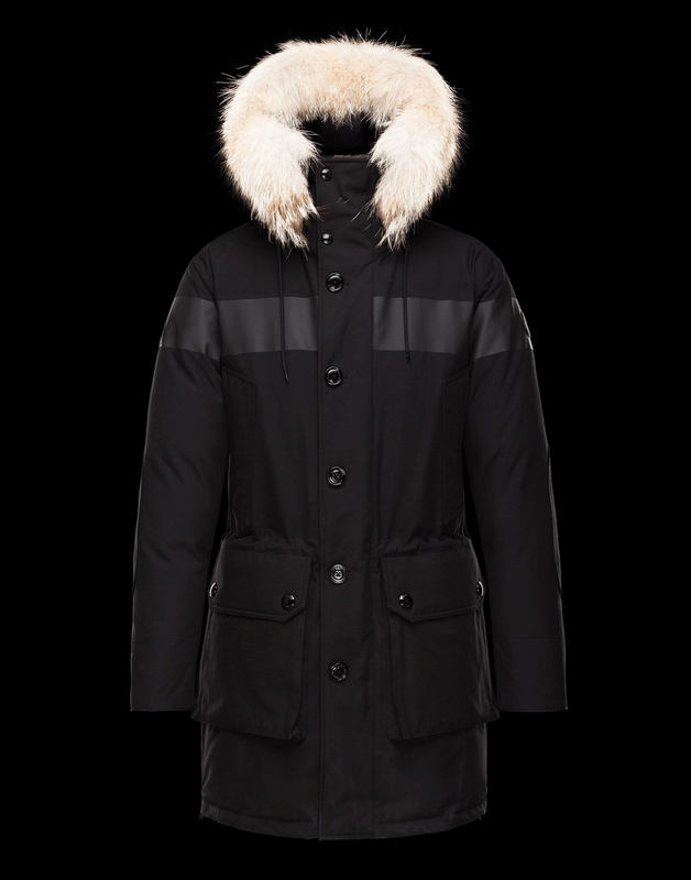 MONCLER HALLET Men Brown