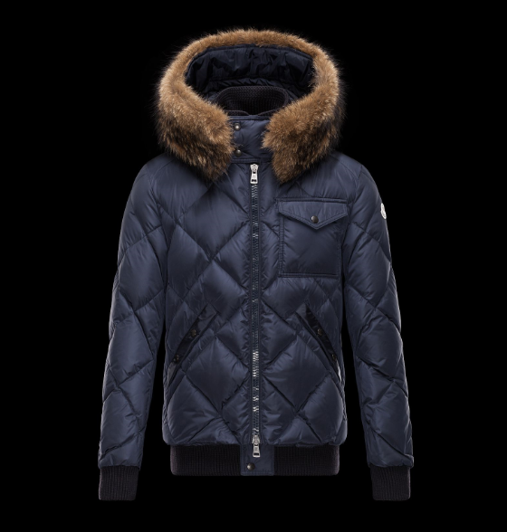MONCLER HARRISON Men Blue