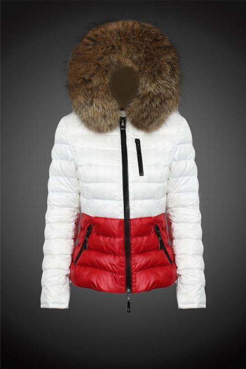 MONCLER LIMANDE Women White Red