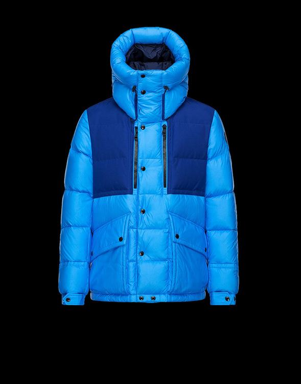 MONCLER MANTEAU Men Blue