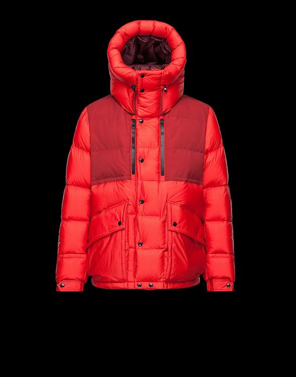MONCLER MANTEAU Men Red