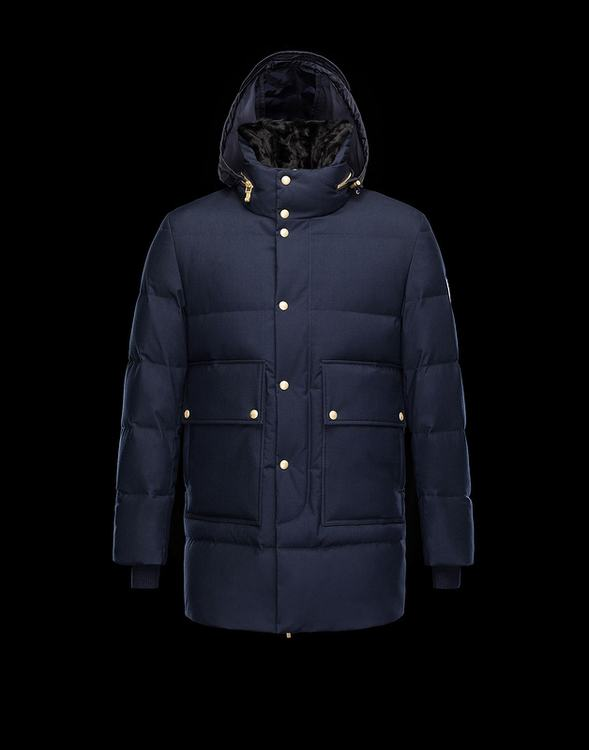 MONCLER PARKA Men Blue