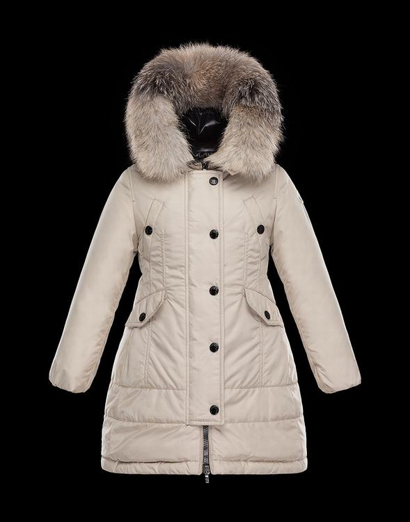 MONCLER PARKA Women White