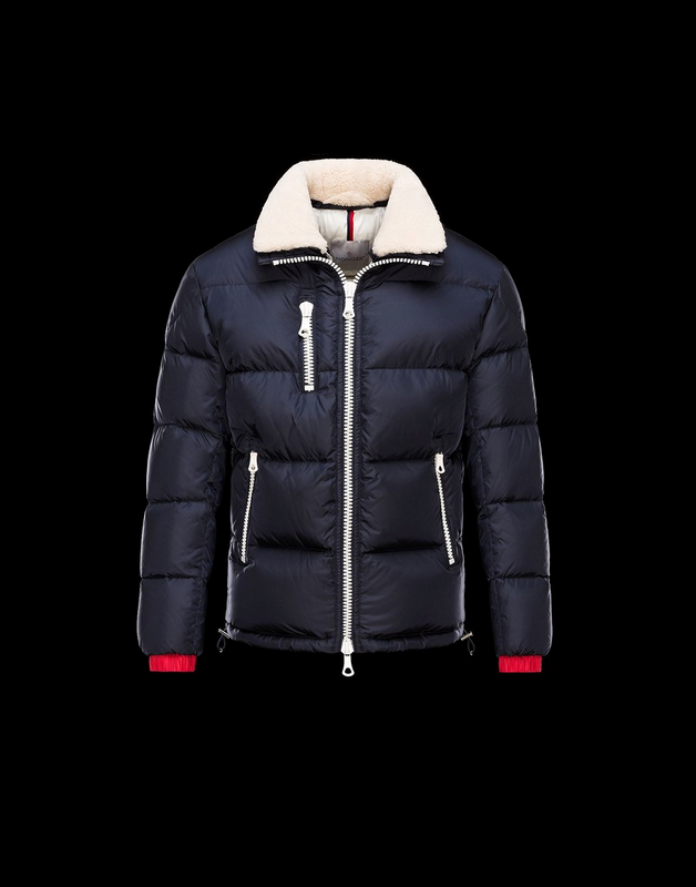 MONCLER Pessac Men Blue