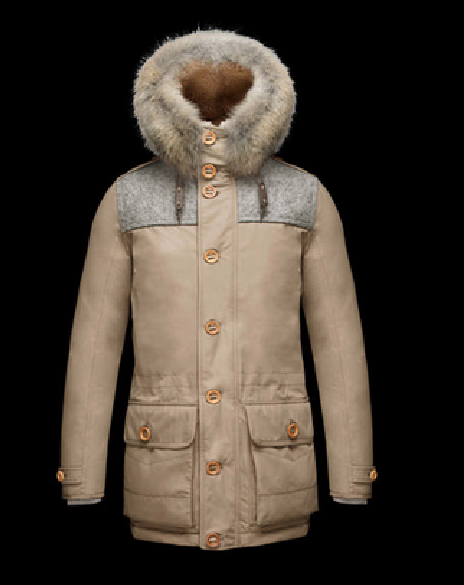 MONCLER VERCORS Men Brown
