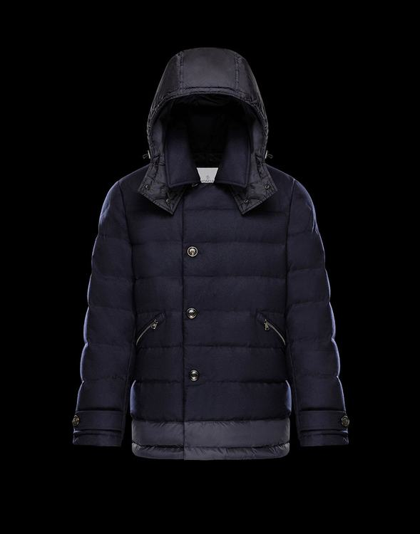 MONCLER VILLEROY Men Blue