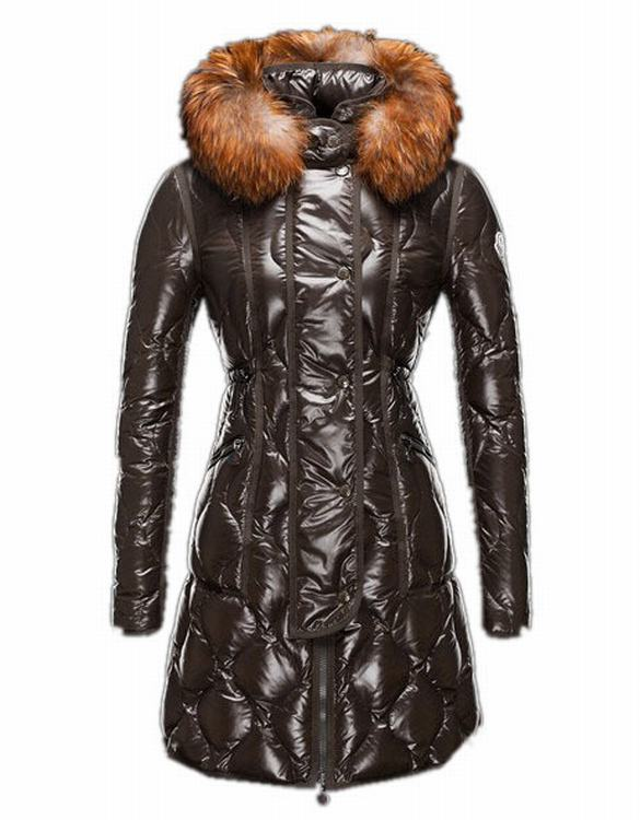 Moncler Lontre Women Brown