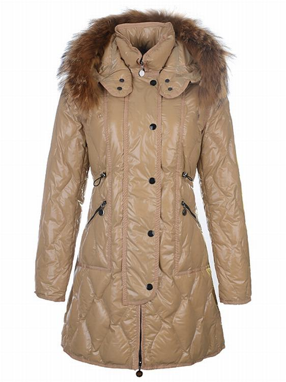 Moncler Lontre Women Light Brown