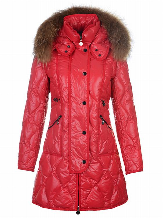 Moncler Lontre Women Red