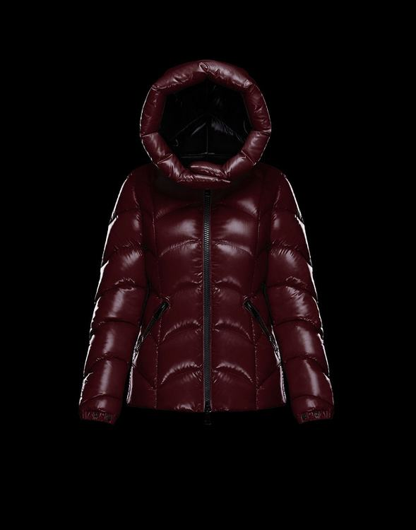 MONCLER AKEBIA Women Drak Red