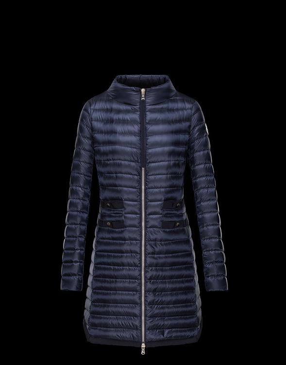 MONCLER AUBRY Women Blue