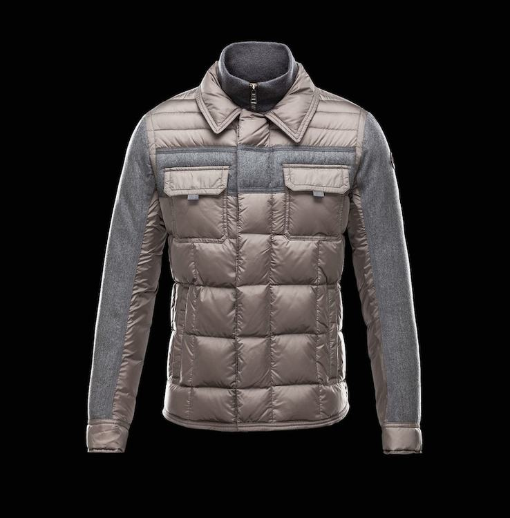 MONCLER BLAIS Men Gray