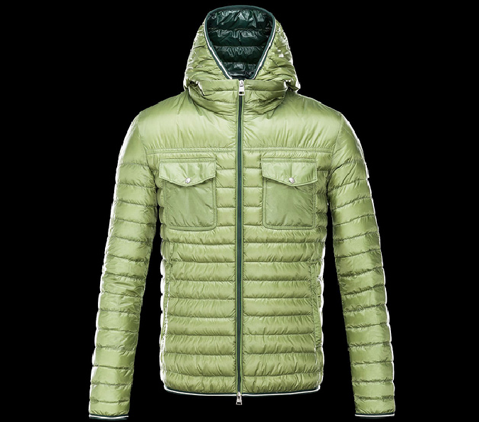 MONCLER CLOVIS Men Green