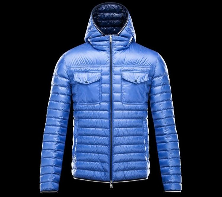 MONCLER CLOVIS Men Navy