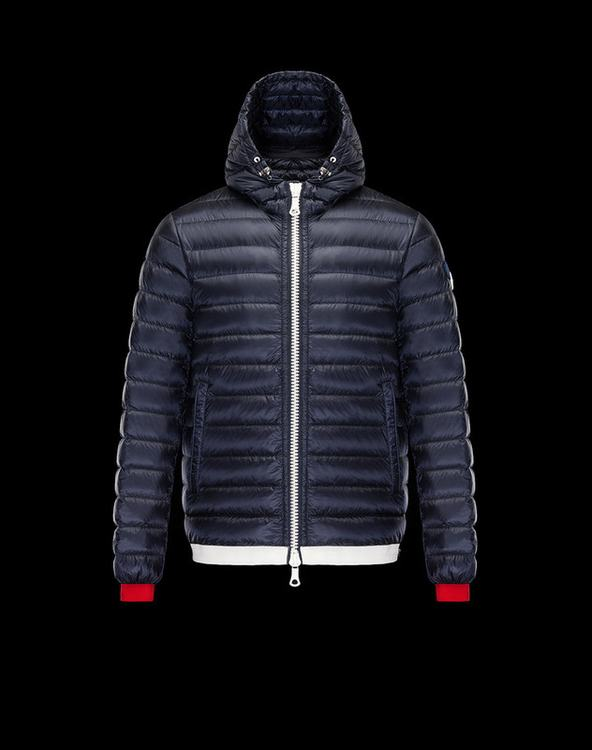 MONCLER EVRARD Men Blue