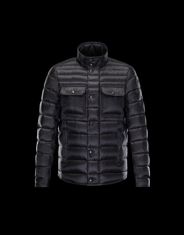 MONCLER FORBIN Men Black