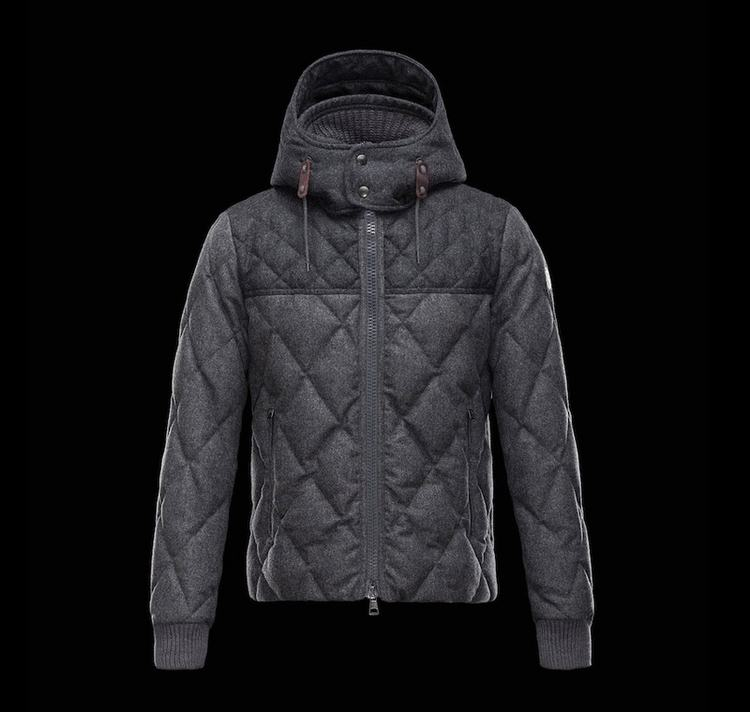 MONCLER LABASTIDE Men Gray Black