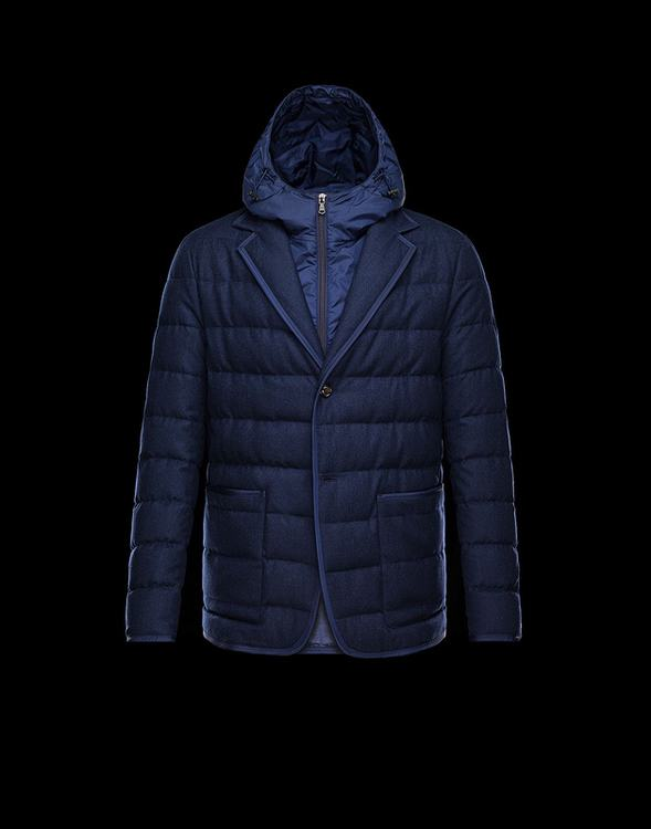MONCLER MARTINVILLE Men Blue