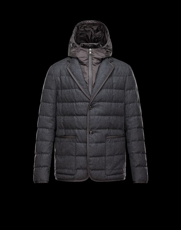 MONCLER MARTINVILLE Men Gray