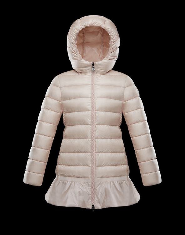MONCLER NEW NADRA Women White W Quilted Puffer Jacket W Wool Trim Jacket
