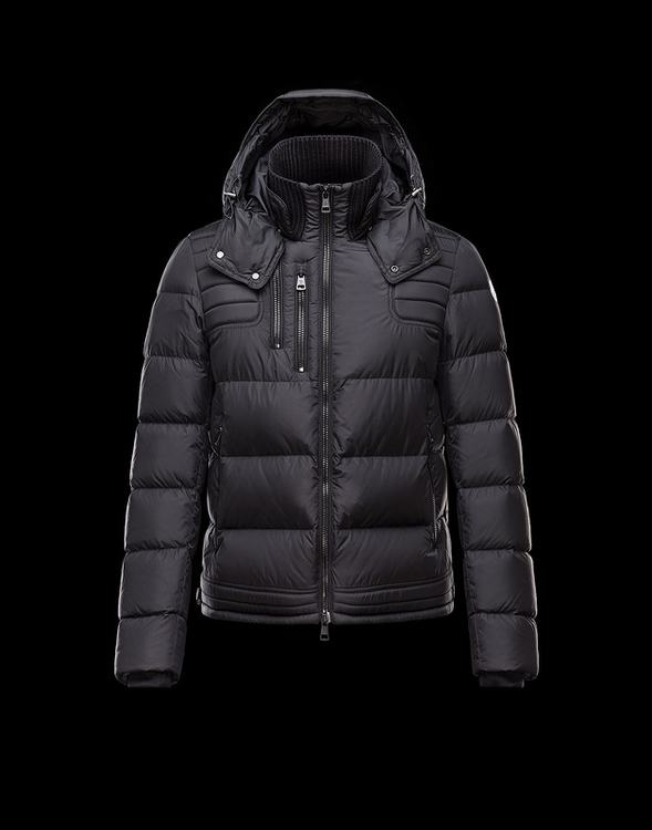 MONCLER PETIT Men Black Jacket