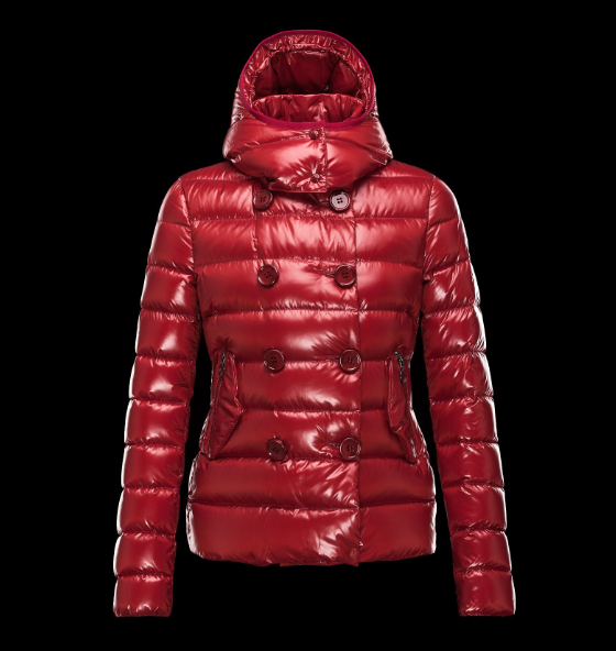 MONCLER PLANE Women Drak Red