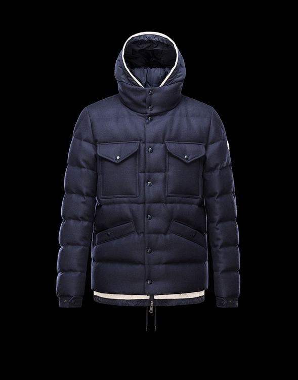MONCLER SAMARON Men Drak Blue