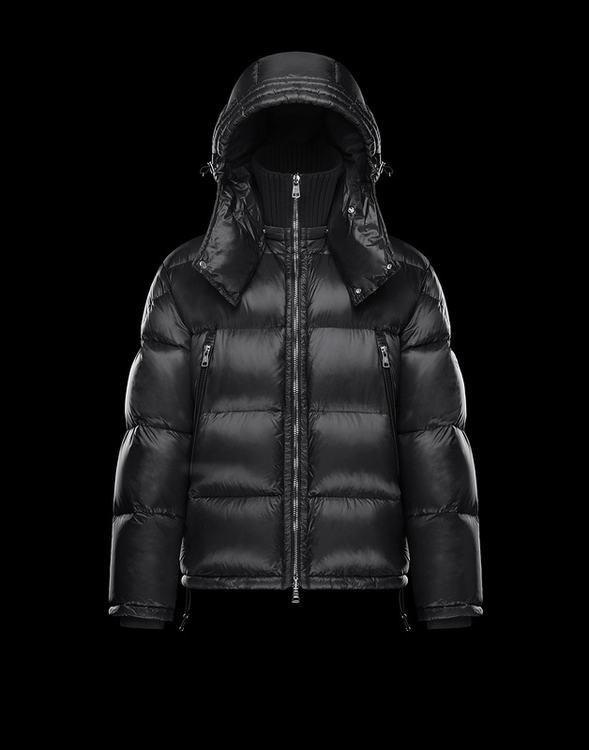 Moncler Pascal Black Reduced Mens Nylon Down Jacket