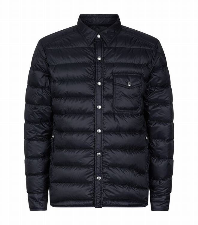 Moncler ANDRIEUX Men Jacket Blue