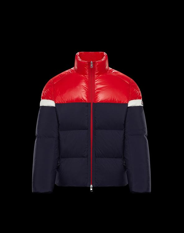 Moncler KONIC Men Jacket Blue Red