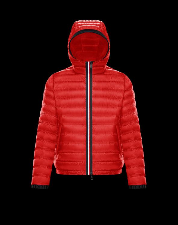 Moncler MORVAN Men Jacket Red