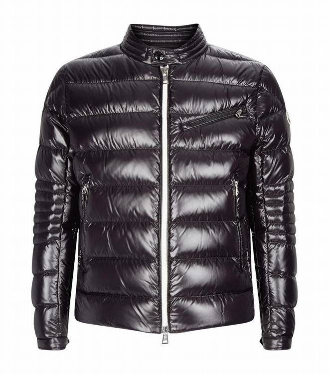 Moncler Men Padded Down Berriat Jacket Black