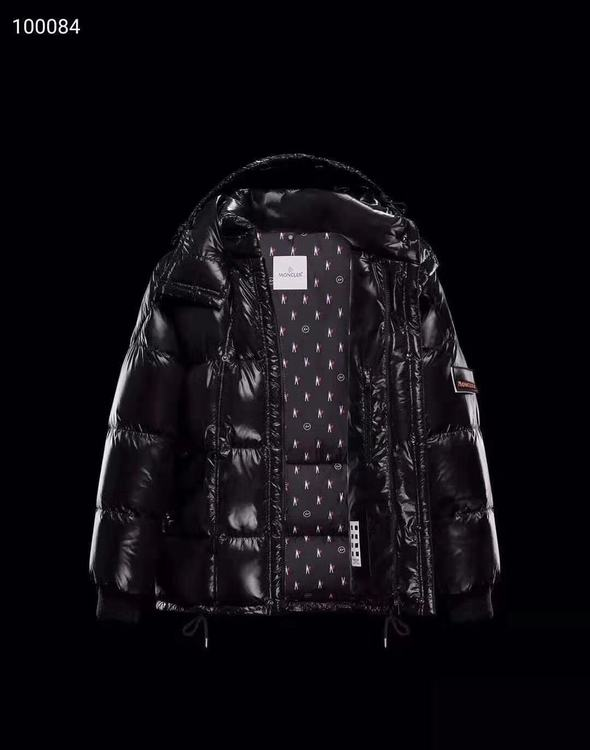 Moncler STYLEBOP Men Down Jacket Black