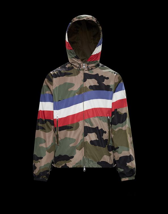 MONCLER ALLAIN MENS OUTERWEAR Camouflage
