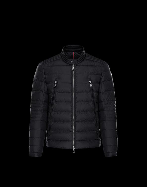 MONCLER AMIOT MENS OUTERWEAR Black