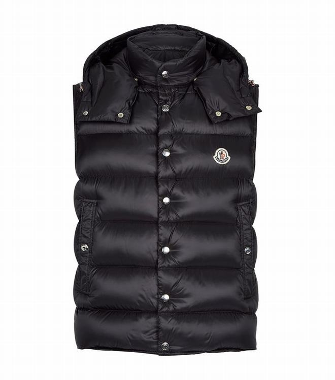 MONCLER BILLECART MENS Billecart Padded Gilet Black