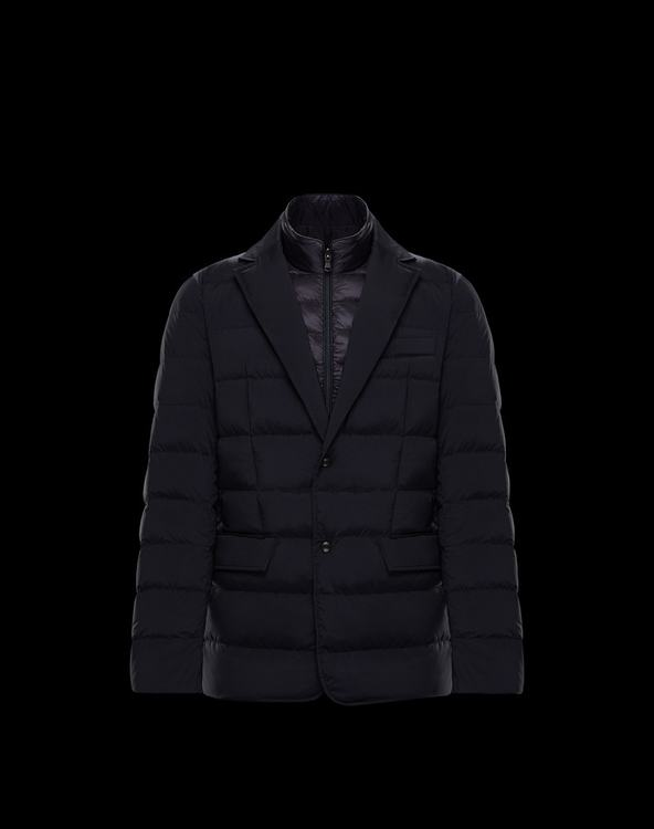 MONCLER FERRANDIER MENS OUTERWEAR Blue