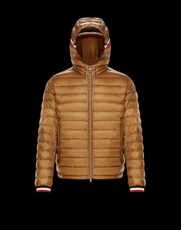 MONCLER GIROUX MENS OUTERWEAR Brown